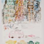 New York Buildings, June 2003 (watercolor)