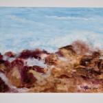 Azure Sky, Rough Peaks, Jan. 2002