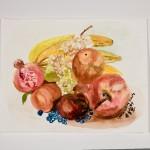 Fruit, 2009 (watercolor)